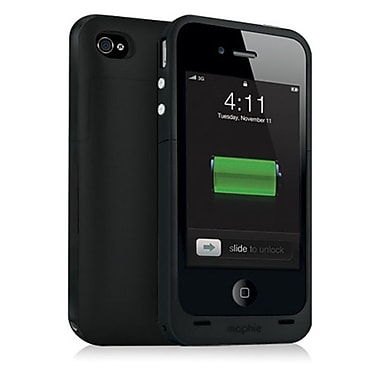 Mophie – Pile externe Juice Pack Air pour iPhone 4/4S, noir