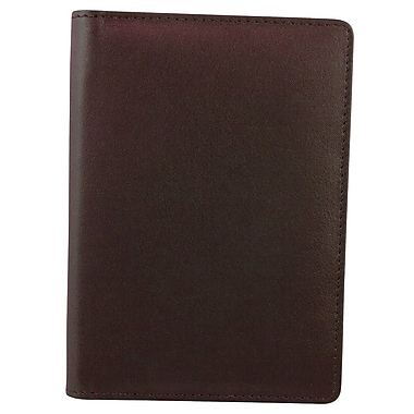 Bugatti Fine Milled Nappa Leather Passport Holder with Identity Block™, Brown