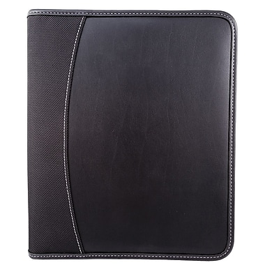 Bugatti Padfolio with Tablet Holder and Identity Block™, Black