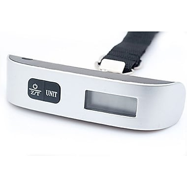Champs Digital Luggage Scale, Silver