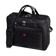 "Swiss Gear 13"" to 17"" Flex-Fit Laptop System Deluxe Laptop Case, Black"