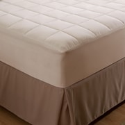 AllerEase Naturals Organic Cotton Allergy Protection Mattress Pad; Twin