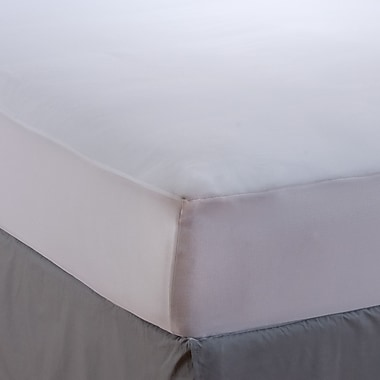 AllerEase 1.5'' Polyester Mattress Pad; Queen