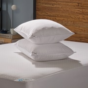 Sealy Posturepedic Allergy Protection Zippered Pillow Protector (Set of 2); Standard / Queen
