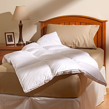 AllerEase Allergy Protection Cotton Fiber Bed; Twin