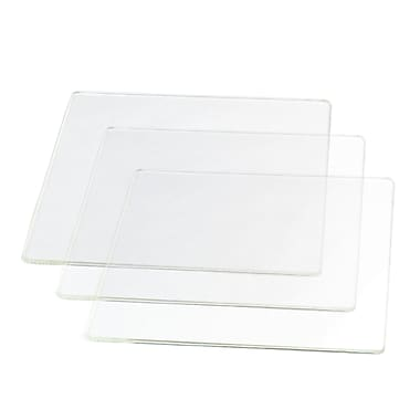 Afinia Borosilicate Glass Platform for Afinia H-Series 3D Printers, 140 x 140 mm, 3/Pack