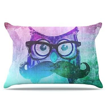 KESS InHouse Showly Pillowcase; Standard