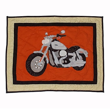 Patch Magic Motor Cycle Pillow Sham