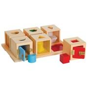 Guidecraft® Peekaboo Lock Boxes Set of 6
