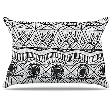KESS InHouse Blanket of Confusion Pillowcase; Standard