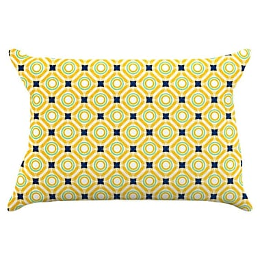 KESS InHouse Tossing Pennies II Pillowcase; King