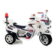 Lil' Rider Supersize Ride-On Police Connection Bike Trike, White