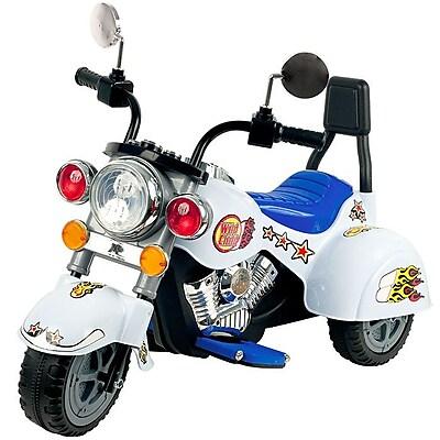 Lil' Rider Three Wheeler Knight Motorcycle, White