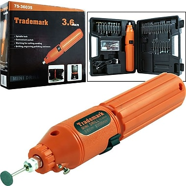 Stalwart™ 60 Piece 3.6 V Cordless Rotary Tool Set, 10000 RPM