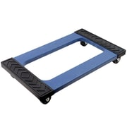 "Stalwart™ 1000 lbs. Mover's Dolly, 18""(H) x 30 1/8""(W) x 5 1/4""(D), Blue"