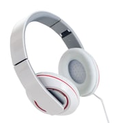 Sunbeam 72-SB540-WH Stereo Bass Foldable Headphone with Mic, White