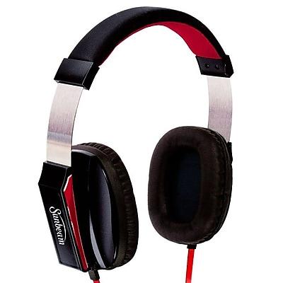 Sunbeam 72-SB650 Stereo Big Bass Headphone with Mic, Black