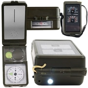 Whetstone™ 10-In-1 Multi-Function Compass With LED Light, Black