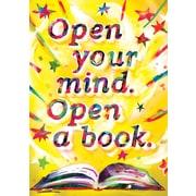 Scholastic Inspirational POP Chart, Open Your Mind Open a Book