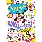 Scholastic Inspirational POP Chart, Music is The Universal Language of Mankind