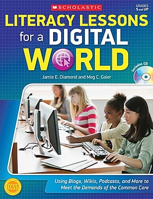 Scholastic Literacy Lessons For a Digital World Book, Grades 5 - 12 125710