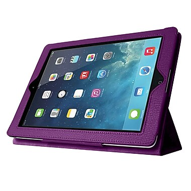 Mgear Accessories 93584814M Tri Fold Folio Case for Apple iPad Mini with Retina Display Tablet, Purple