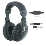 Naxa Super Bass NE-916 Professional Digital Stereo Headphone, Black