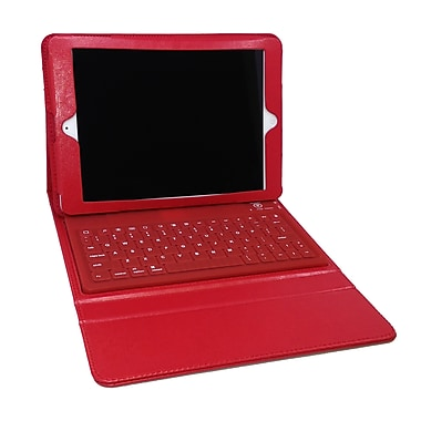 Mgear Bluetooth Keyboard Folio For iPad Air, Red