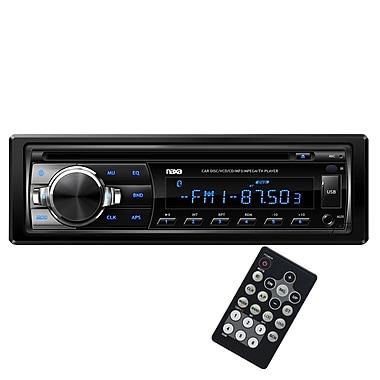 Naxa® NCA-603 Ovando AM/FM Radio MP3/CD Player With Anti-Skip Protection and Remote Control