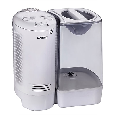 Optimus U-32010 3 gal Warm Mist Humidifier With Wicking Vapor System; White