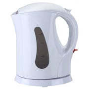 Brentwood® 1 Litre Cordless Plastic Tea Kettle; White