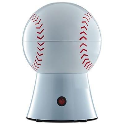 Brentwood 1200 W Baseball Popcorn Maker, White