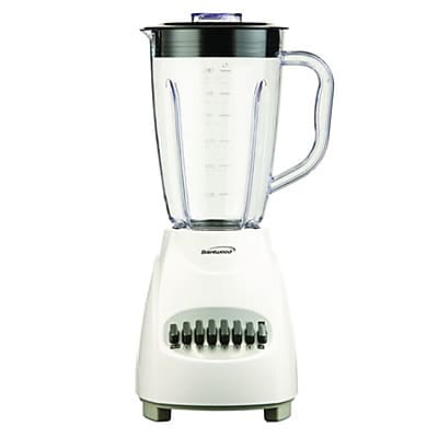 Brentwood® 12 Speed Blender With 1.5 Litre Plastic Jar; White