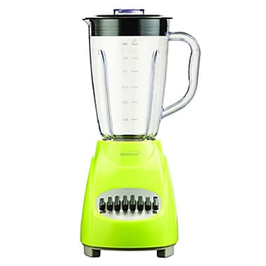 Brentwood® 12 Speed Blender With 1.5 Litre Plastic Jar, Green