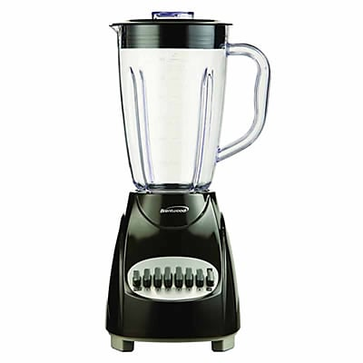 Brentwood® 12 Speed Blender With 1.5 Litre Plastic Jar; Black