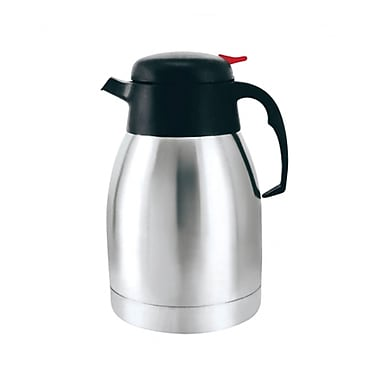 Brentwood® CTS-1000 Vacuum Stainless Steel Coffee Pot, 1 Litre