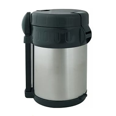 Brentwood 2 Litre Vacuum Stainless Steel Flask With Food Compartment