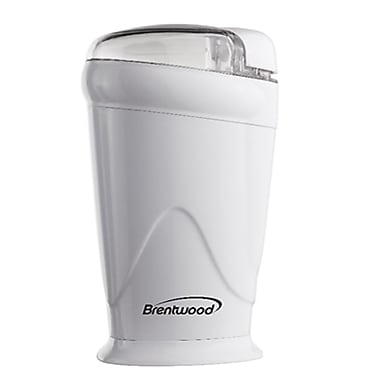 Brentwood® Coffee Grinder, White