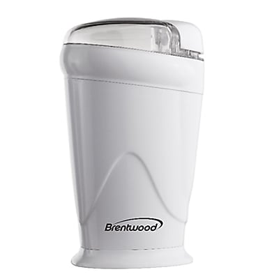 Brentwood® Coffee Grinder; White