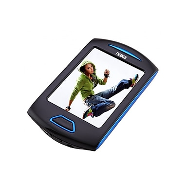 Naxa 238312 4GB Touchscreen Video/MP3 Player, Blue