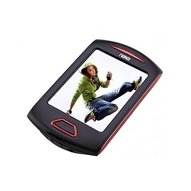 Naxa 238307 4GB Touchscreen Video/MP3 Player, Red