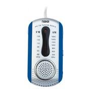Naxa® NR-721 AM/FM Mini Pocket Radio With Built-in Speaker, Blue