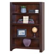 "Martin Home Furnishings 53"" Hardwood Solid & Maple Veneer Bookcase"