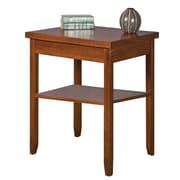 Martin Home Furnishings Wood/Veneer Corner Table, Medium Wood, Each (MP55/M)