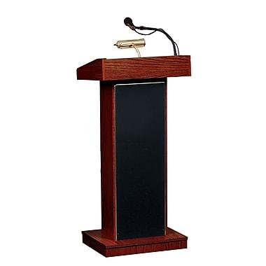 Oklahoma Sound Orator Floor Lectern, Mahogany (800X-LWM6-MY)