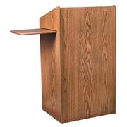 Oklahoma Sound Aristocrat Floor Lectern, Medium Oak (600-MO)