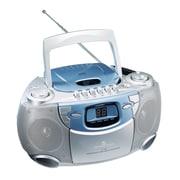 Oklahoma Sound® CD/Tape Player, Silver