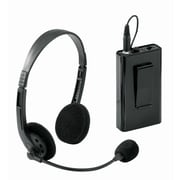 Oklahoma Sound® Wireless Headset Microphone For Pro Audio PRA6000/7000