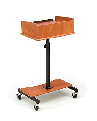 Oklahoma Sound® Portable Laptop Speaker Stand, Fusion Maple