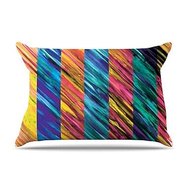 KESS InHouse Set Stripes I Pillowcase; Standard